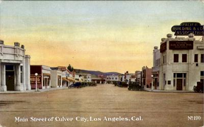 Culver City, circa 1920. Courtesy of the Special Collections, Loyola Marymount University.